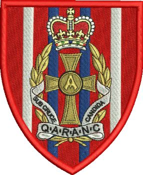 QARANC Embroidered Badge